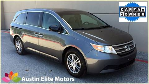 2012 Honda Odyssey for sale at Austin Elite Motors in Austin TX