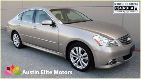 2008 Infiniti M35 for sale at Austin Elite Motors in Austin TX