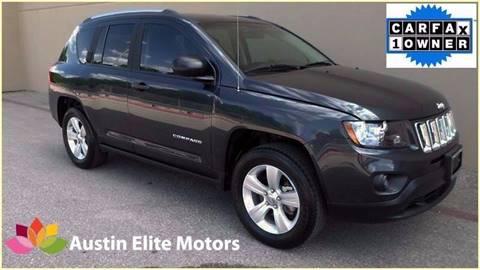 2014 Jeep Compass for sale at Austin Elite Motors in Austin TX