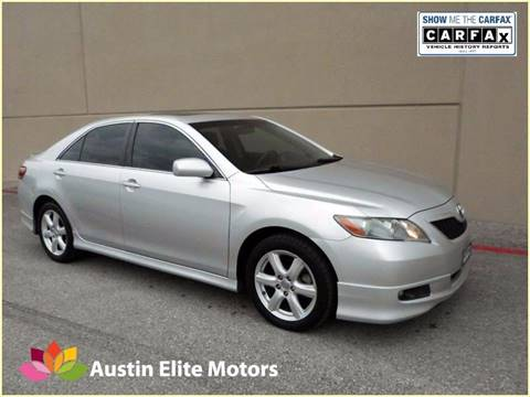 2009 Toyota Camry for sale at Austin Elite Motors in Austin TX