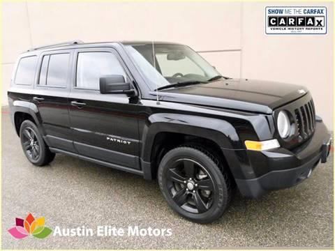 2014 Jeep Patriot for sale at Austin Elite Motors in Austin TX