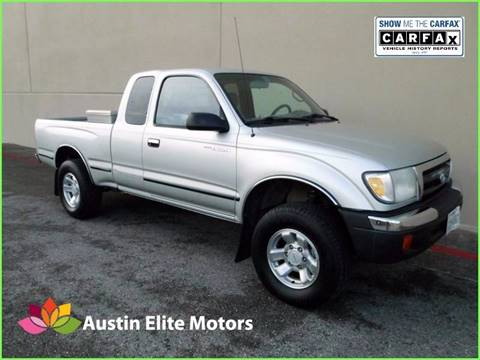 2000 Toyota Tacoma for sale at Austin Elite Motors in Austin TX