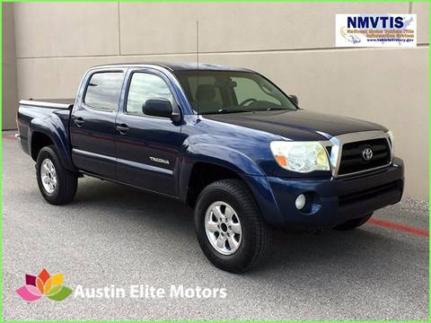 2005 Toyota Tacoma for sale at Austin Elite Motors in Austin TX