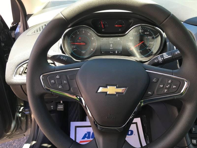 2017 Chevrolet Cruze LT Auto 4dr Sedan w/1SD - Manistee MI