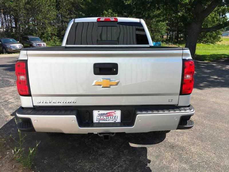 2017 Chevrolet Silverado 1500 4x4 LT 4dr Crew Cab 5.8 ft. SB w/Z71 - Manistee MI
