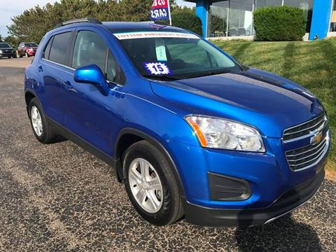 2015 Chevrolet Trax for sale in Manistee, MI