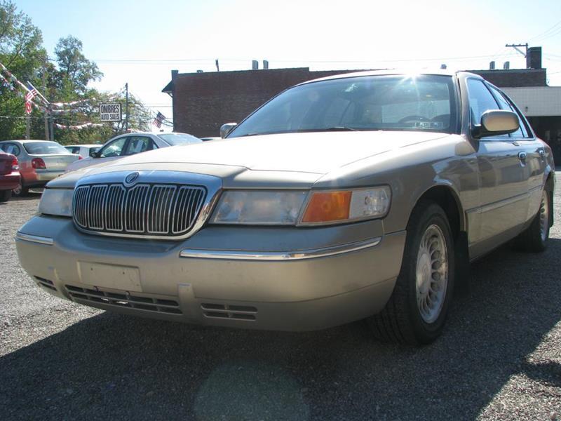 2000 Mercury Grand Marquis for sale at Ombres Auto Sales in Ambridge PA