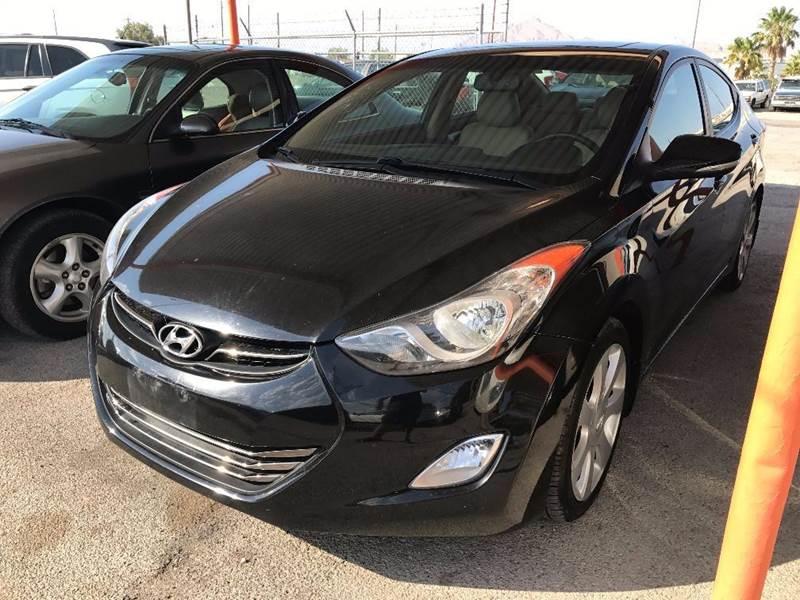 2012 Hyundai Elantra Limited 4dr Sedan - Las Vegas NV