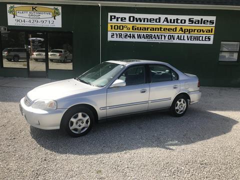 1999 Honda Civic for sale in Saint Augustine, FL
