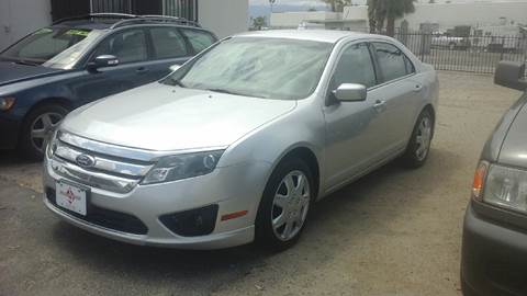 2011 Ford Fusion for sale at Salas Auto Group in Indio CA