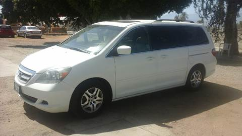 2007 Honda Odyssey for sale at Salas Auto Group in Indio CA