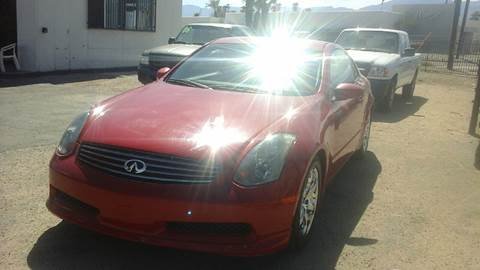 2004 Infiniti G35 for sale at Salas Auto Group in Indio CA