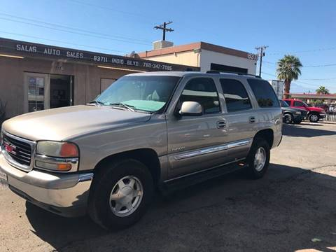 2003 GMC Yukon for sale at Salas Auto Group in Indio CA