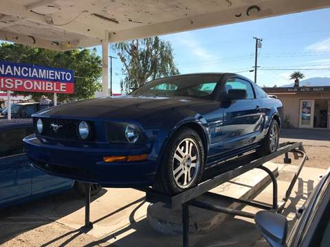 2006 Ford Mustang for sale at Salas Auto Group in Indio CA