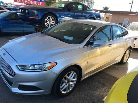2013 Ford Fusion for sale at Salas Auto Group in Indio CA
