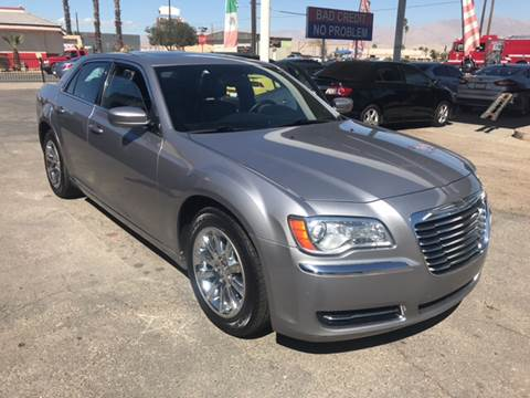 2014 Chrysler 300 for sale at Salas Auto Group in Indio CA