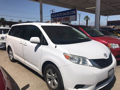 2011 Toyota Sienna for sale at Salas Auto Group in Indio CA