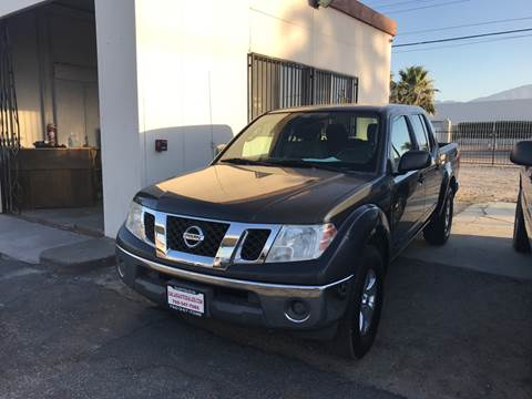 2010 Nissan Frontier for sale at Salas Auto Group in Indio CA