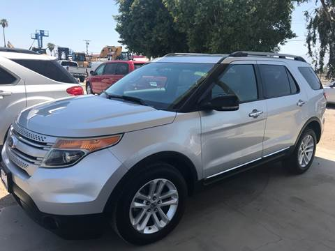 2011 Ford Explorer for sale at Salas Auto Group in Indio CA