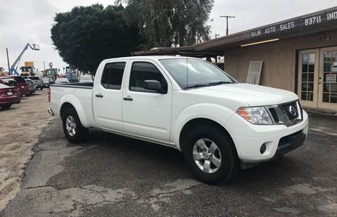 2013 Nissan Frontier for sale at Salas Auto Group in Indio CA