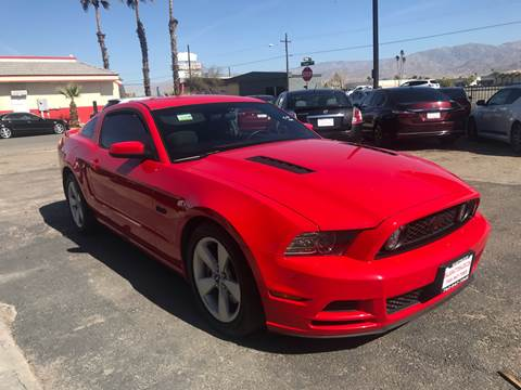 2014 Ford Mustang for sale at Salas Auto Group in Indio CA