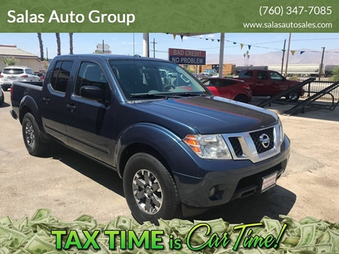 2015 Nissan Frontier for sale at Salas Auto Group in Indio CA