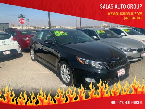 2014 Kia Optima for sale at Salas Auto Group in Indio CA