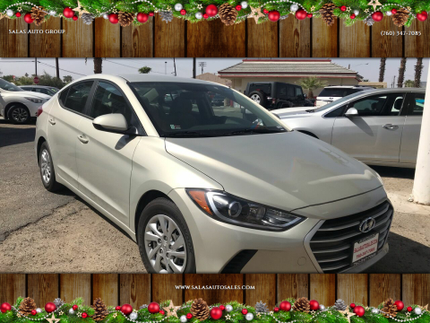 2017 Hyundai Elantra for sale at Salas Auto Group in Indio CA