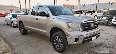 2012 Toyota Tundra for sale at Salas Auto Group in Indio CA