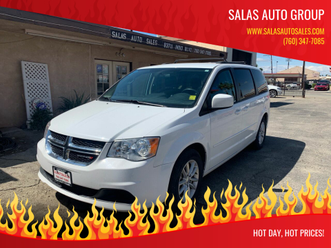 2016 Dodge Grand Caravan for sale at Salas Auto Group in Indio CA