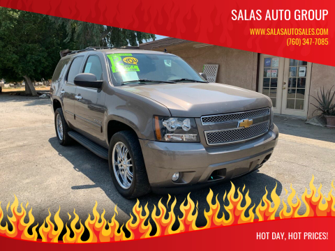 2012 Chevrolet Tahoe for sale at Salas Auto Group in Indio CA