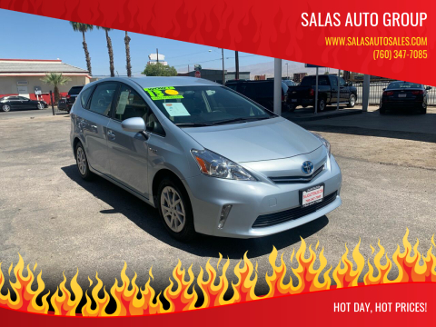 2013 Toyota Prius v for sale at Salas Auto Group in Indio CA