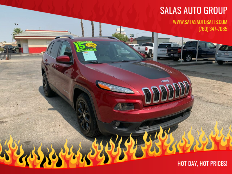 2015 Jeep Cherokee for sale at Salas Auto Group in Indio CA