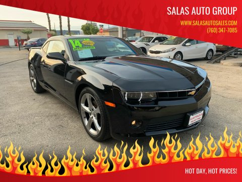 2014 Chevrolet Camaro for sale at Salas Auto Group in Indio CA