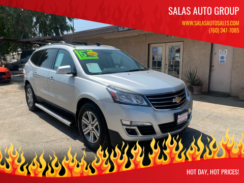 2015 Chevrolet Traverse for sale at Salas Auto Group in Indio CA