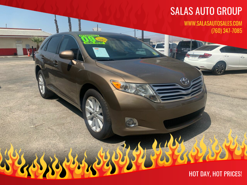 2009 Toyota Venza for sale at Salas Auto Group in Indio CA
