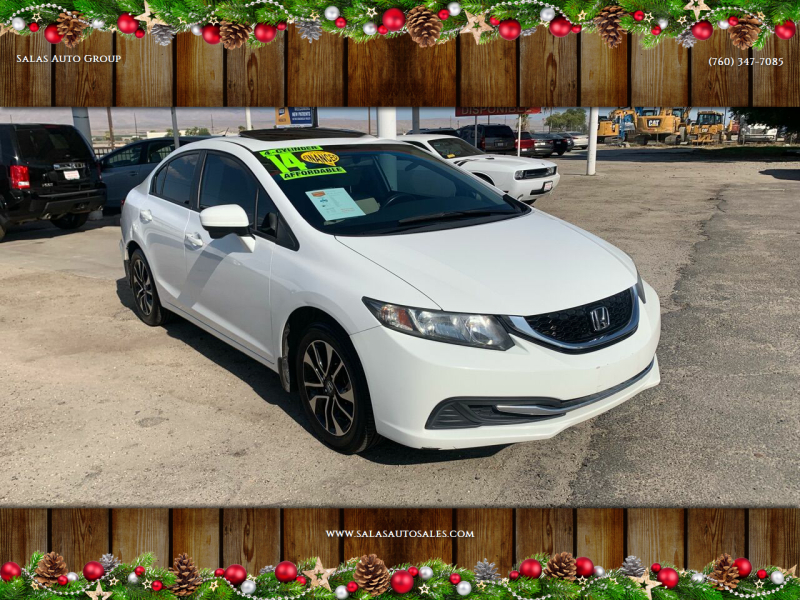2014 Honda Civic for sale at Salas Auto Group in Indio CA