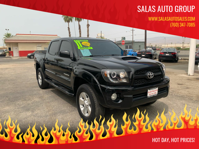 2011 Toyota Tacoma for sale at Salas Auto Group in Indio CA