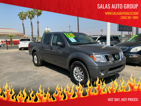 2016 Nissan Frontier for sale at Salas Auto Group in Indio CA