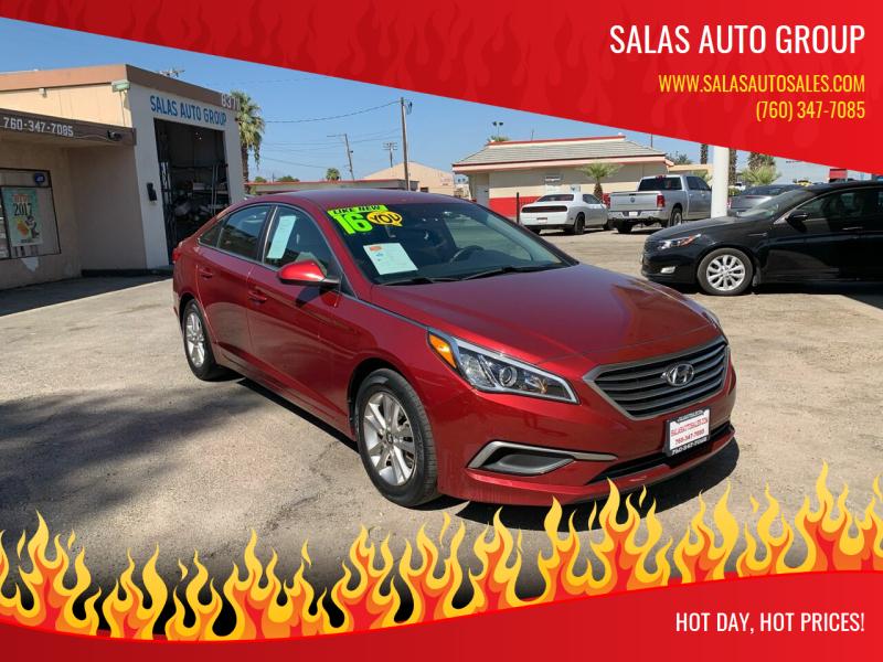2016 Hyundai Sonata for sale at Salas Auto Group in Indio CA