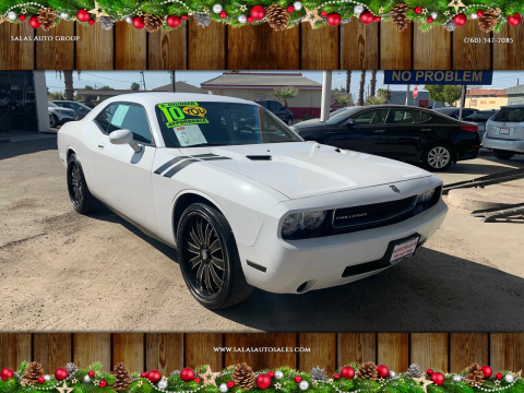 2010 Dodge Challenger for sale at Salas Auto Group in Indio CA
