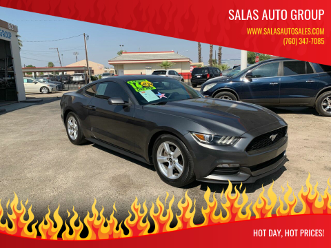 2015 Ford Mustang for sale at Salas Auto Group in Indio CA