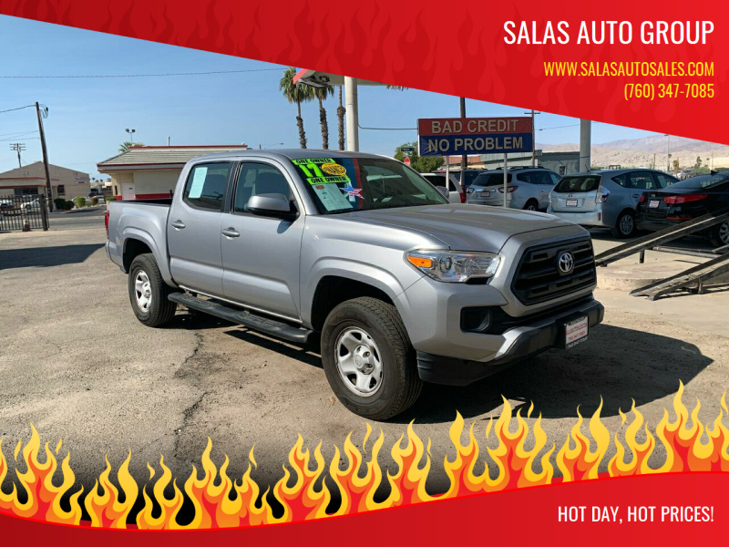 2017 Toyota Tacoma for sale at Salas Auto Group in Indio CA