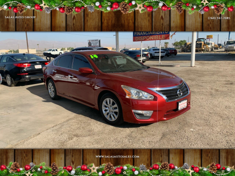 2014 Nissan Altima for sale at Salas Auto Group in Indio CA