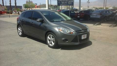 2014 Ford Focus for sale at Salas Auto Group in Indio CA