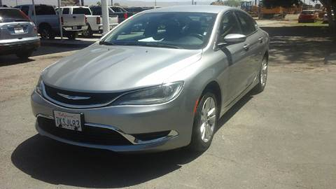 2015 Chrysler 200 for sale at Salas Auto Group in Indio CA