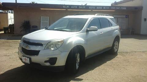 2011 Chevrolet Equinox for sale at Salas Auto Group in Indio CA