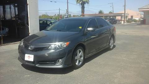 2014 Toyota Camry for sale at Salas Auto Group in Indio CA