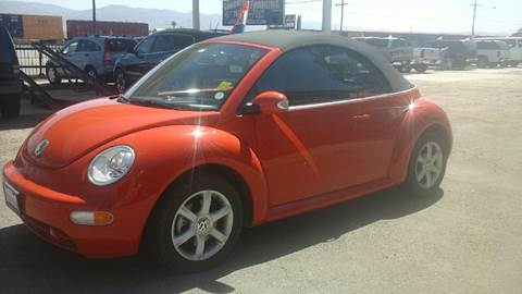 2005 Volkswagen New Beetle for sale at Salas Auto Group in Indio CA