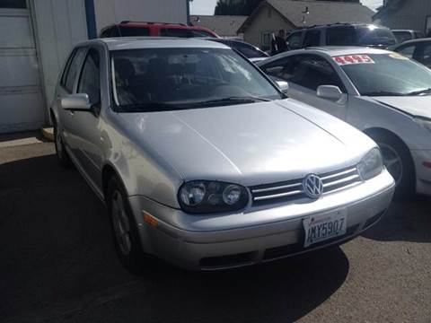 2002 Volkswagen Golf for sale at TTT Auto Sales in Spokane WA